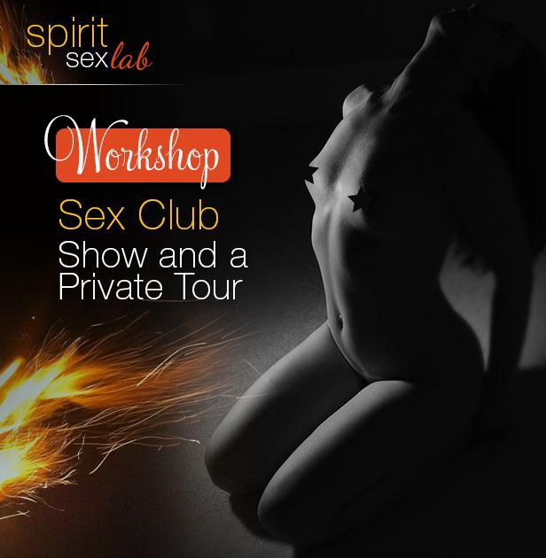 Sex Club show invite