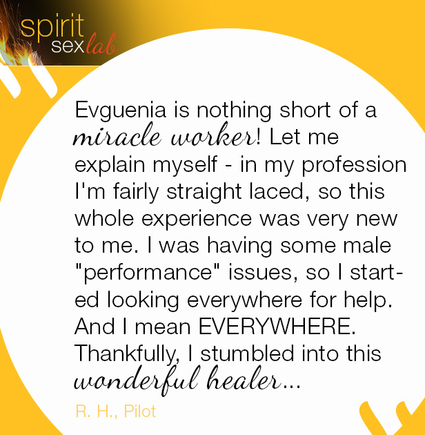 Positive Testimonial about Evguenia's services miracle