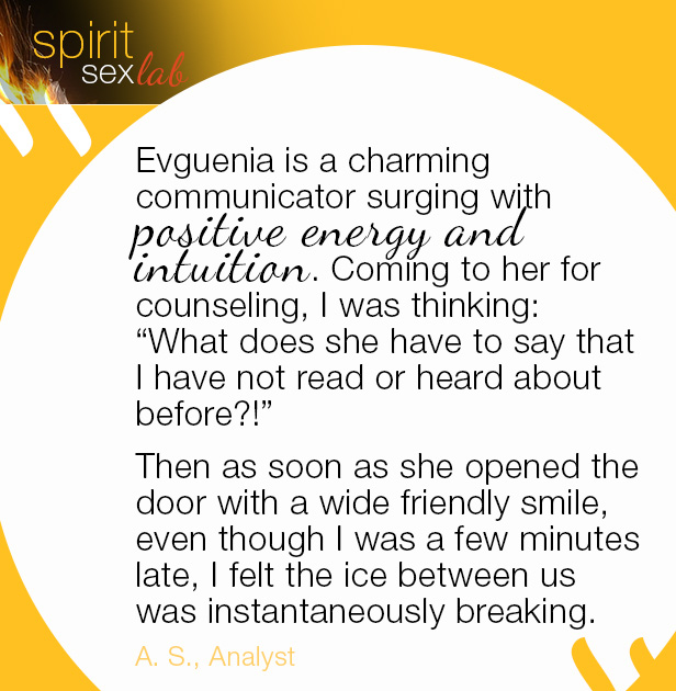 testimonial about Evguenia as a great communicator