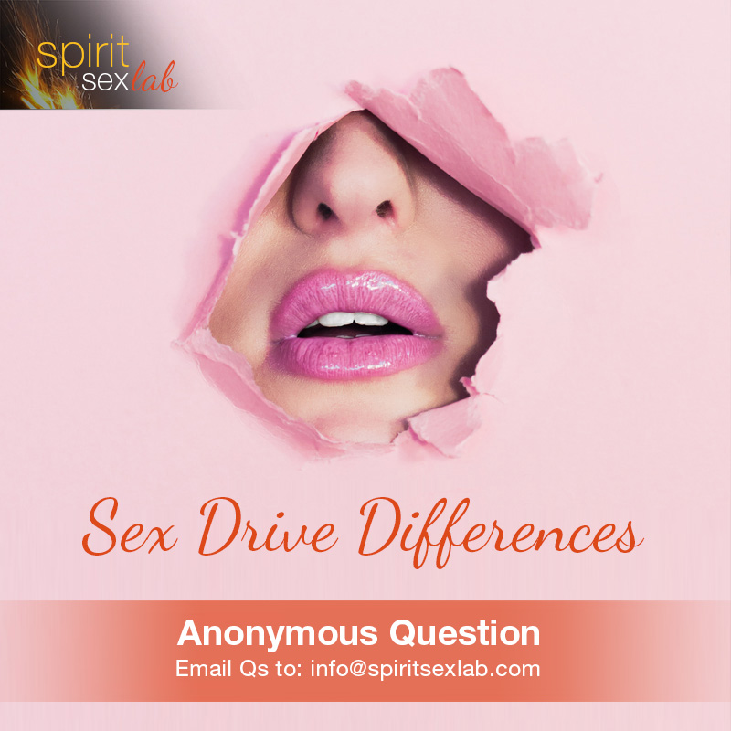 sex drive differences
