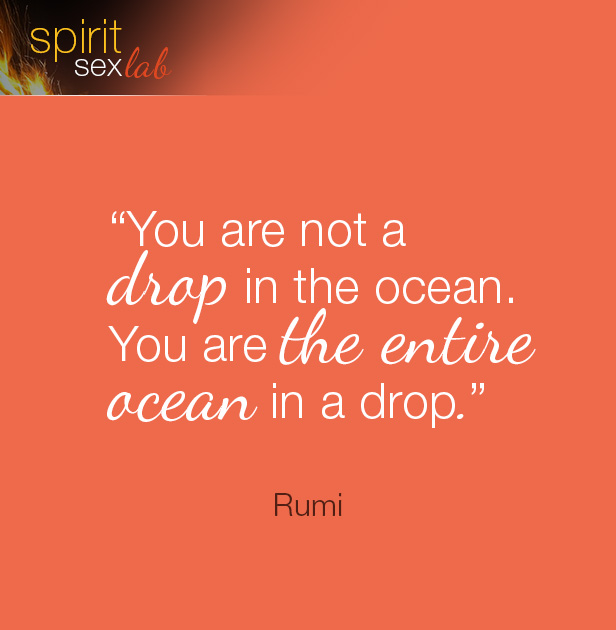 you're not a drop in the ocean