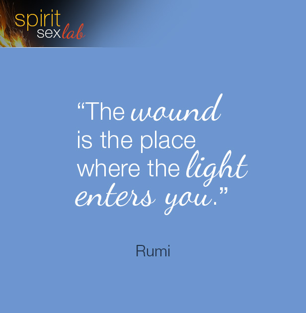 the wound is the place where the light enters
