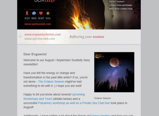 Newsletter - August / September