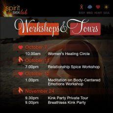 Upcoming October November events