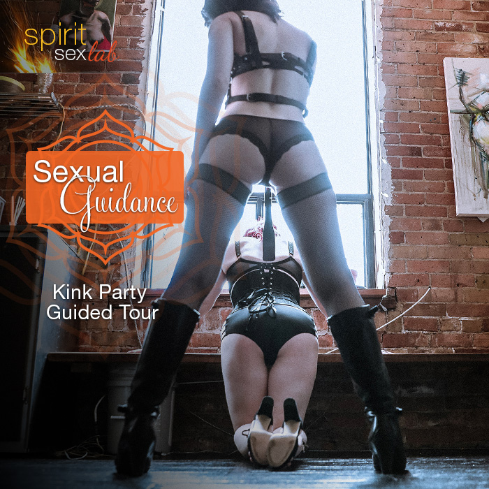 kink party guided tour