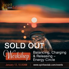 Energy Circle Sold Out