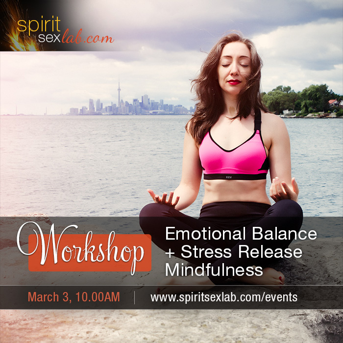 Emotional Balance, Stress Release