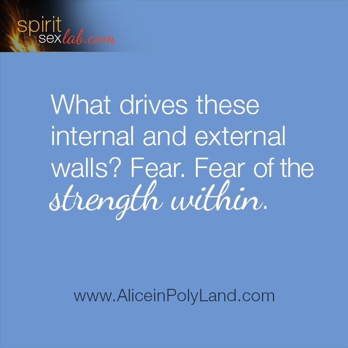 Fear of the strength within