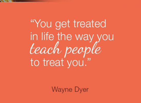 You Get Treated