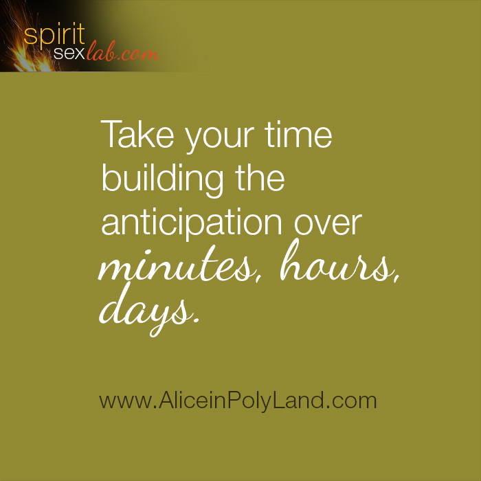 build anticipation