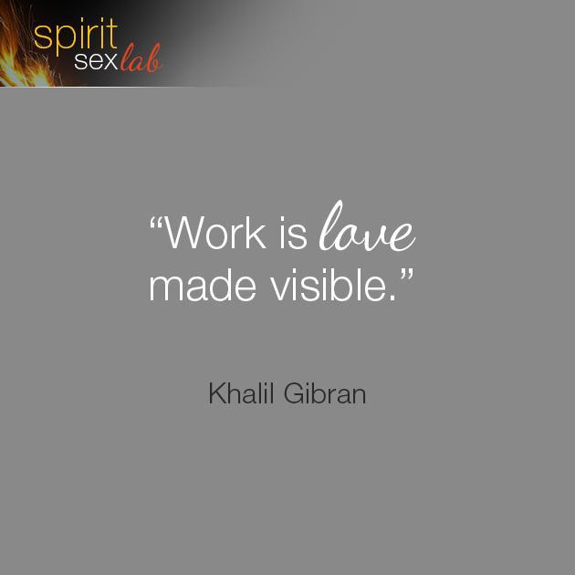 work is love