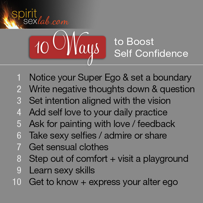 10 Ways Self Confidence